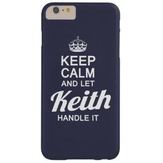 ¡Deje al Keith dirigirlo! Funda De iPhone 6 Plus Barely There