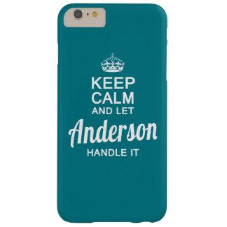 Deje Anderson manejarla Funda De iPhone 6 Plus Barely There