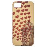 Deje el amor libre iPhone 5 protectores