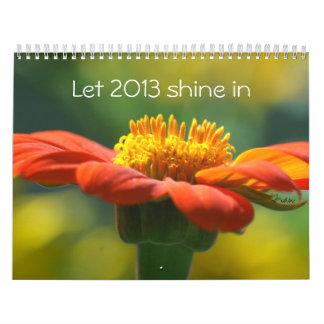 deje el brillo 2013 adentro calendarios