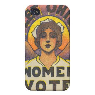 Deje el caso del iPhone del voto de las mujeres de iPhone 4 Fundas