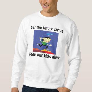 Deje el furure esforzarse las camisetas
