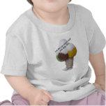 Deje el helado derretir y permanecer slim-product. camisetas