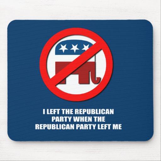 Dejé el Partido Republicano, cuando el p republica Tapetes De Ratones