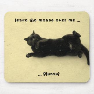 Deje el ratón alfombrilla de ratón