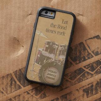 Deje la buena roca de las épocas (el funda para  iPhone 6 tough xtreme