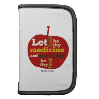 Deje la comida ser thy medicina APPLE Planificador