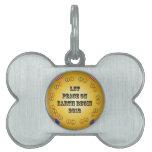 Deje la paz en la tierra comenzar 2013 placas mascota