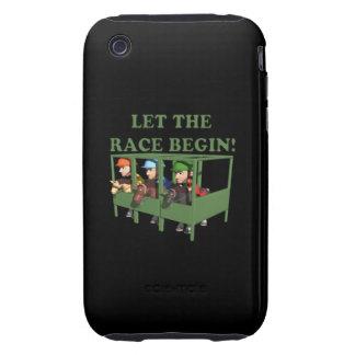 Deje la raza comenzar iPhone 3 tough protectores