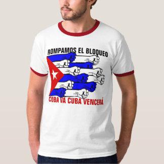DEJE LA ROTURA DE LOS E.E.U.U. EL BLOQUEO PLAYERA