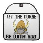 Deje los nórdises estar con usted funda macbook pro