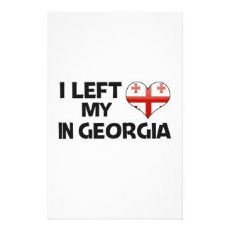 Dejé mi amor en Georgia Papeleria