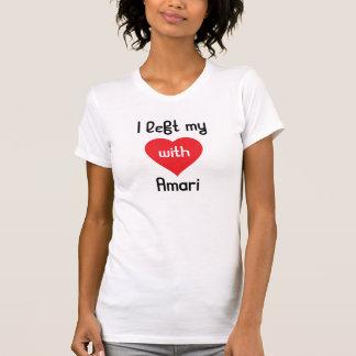 Dejé mi corazón con Amari Remera
