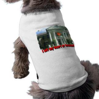 Dejé mi corazón en Graceland Playera Sin Mangas Para Perro