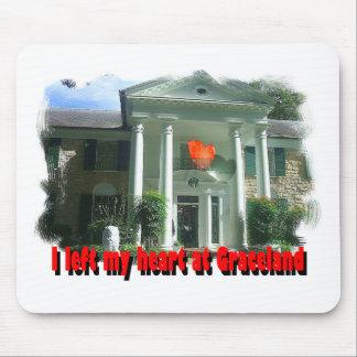 Dejé mi corazón en Graceland Alfombrillas De Ratones