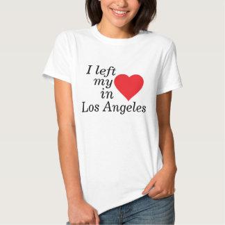 Dejé mi corazón en Los Ángeles Poleras