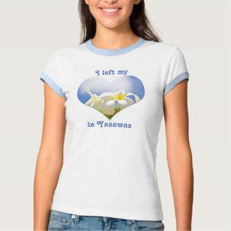Dejé mi Frangipani del Plumeria de Yasawas Fiji Polera
