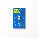 Deje su brillo ligero cubiertas para interruptor