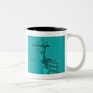 Deje su imaginación elevarse taza de café