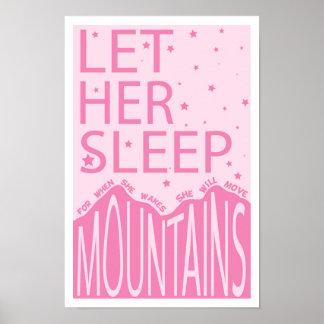 Deje su sueño póster