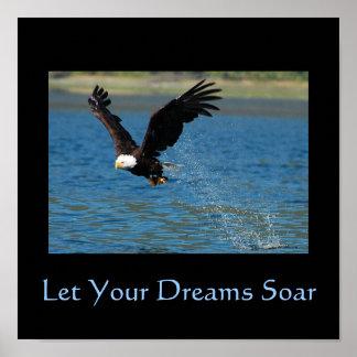 Deje sus sueños elevarse impresiones