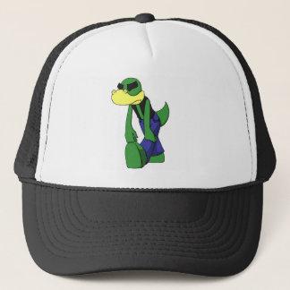 Dejected Lizardface - Shaded Trucker Hat
