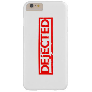 Dejected Stamp Barely There iPhone 6 Plus Case