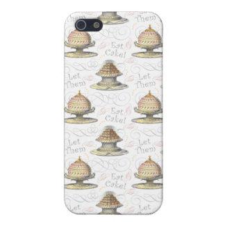 Déjelos comer a los franceses Marie Antonieta del iPhone 5 Fundas