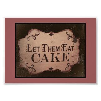 Déjelos comer la torta cojinete
