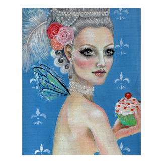 Déjelos comer la torta, déjelos comen la magdalena póster