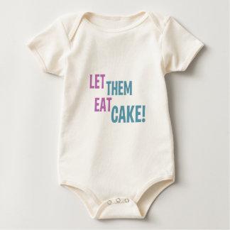 ¡Déjelos comer la torta! Mameluco