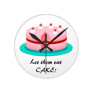 Déjelos comer la torta!: Pique el reloj de la coci
