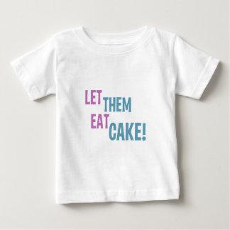 ¡Déjelos comer la torta! Playeras