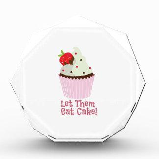 ¡Déjelos comer la torta!