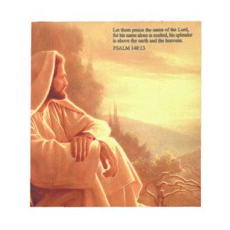 Déjelos elogiar el nombre del señor. Salmo: 148 Bloc De Notas