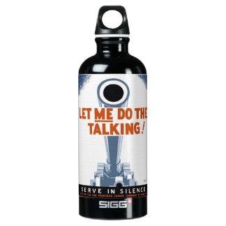 Déjeme hacer la botella del poster de WPA que