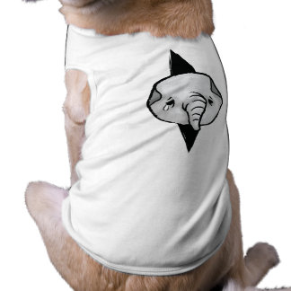 Déjeme hacia fuera camisas de mascota