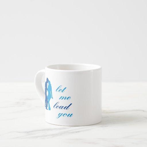 Déjeme llevarle taza de espresso