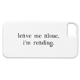 Déjeme me solo están leyendo iPhone 5 Case-Mate funda
