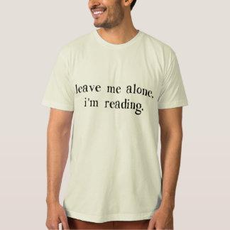 Déjeme me solo están leyendo remeras