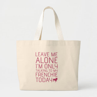 Déjeme solo, rosa bolsa