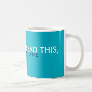 Déjeme solo: Taza de café