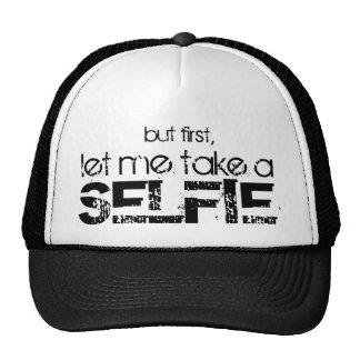 Déjeme tomar un gorra de Selfie