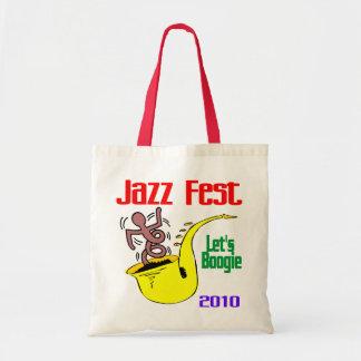 Déjenos boogie en el Fest del jazz Bolsa Tela Barata