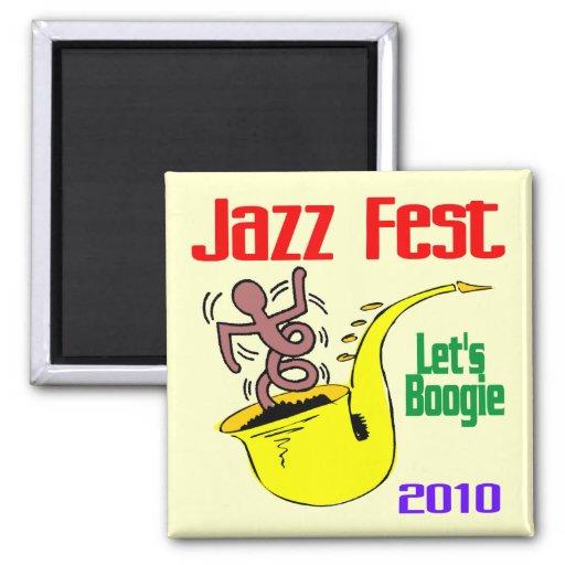Déjenos boogie en el Fest del jazz Imán Cuadrado