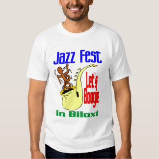 Déjenos boogie en Fest del jazz de Biloxi Polera