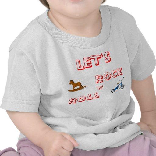 Déjenos camisa del rock-and-roll