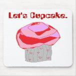Déjenos Cupcake. Tapetes De Ratón