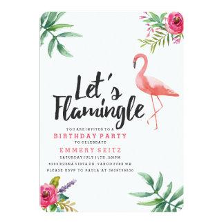 Déjenos invitación de la fiesta de cumpleaños de