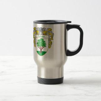 DeJesus Coat of Arms/Family Crest Travel Mug